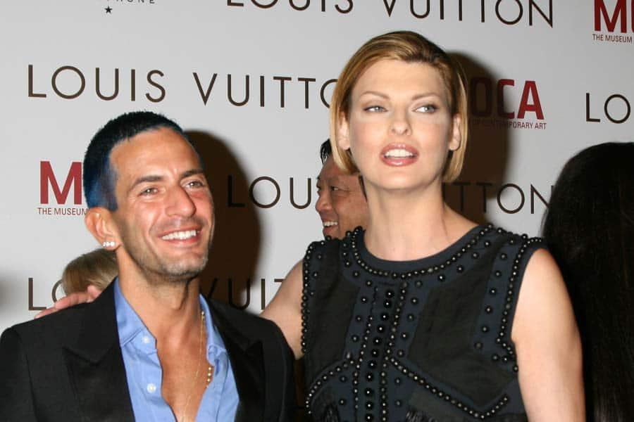 Marc Jacobs and Linda Evangelista